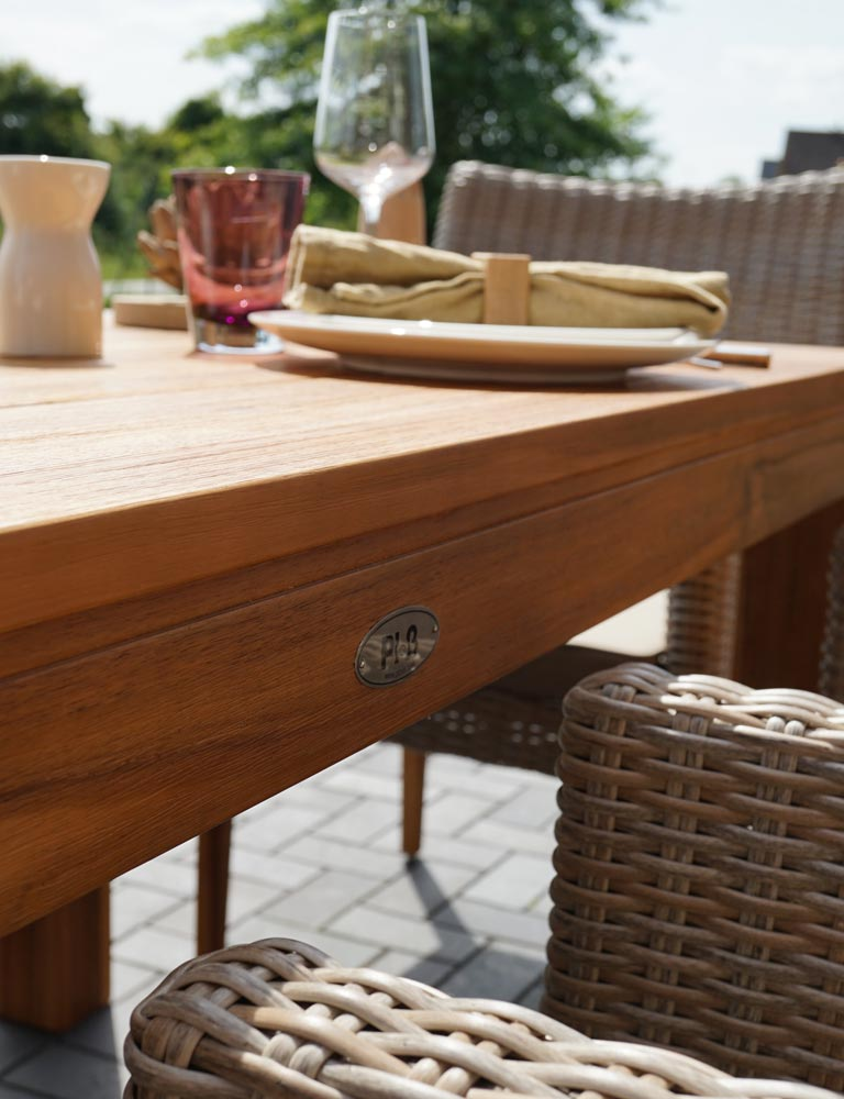 Perfect Acacia Wood With Gartenmbel Alu Teak With Ploss Mbel